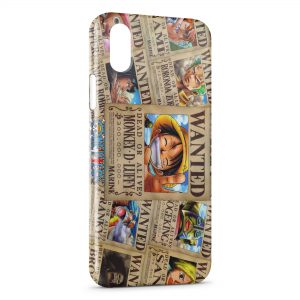 Coque iPhone XS Max One Piece Wanted