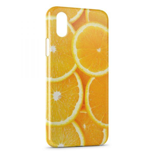 Coque iPhone XS Max Oranges