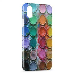 Coque iPhone XS Max Palette Peinture