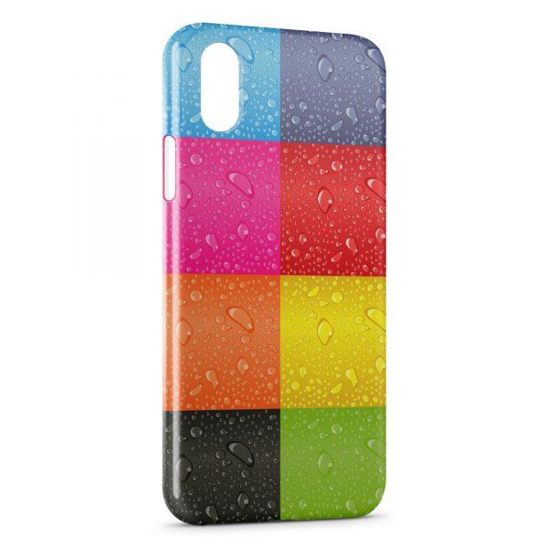 Coque iPhone XS Max Palette de couleurs