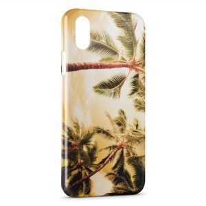 Coque iPhone XS Max Palmier 3