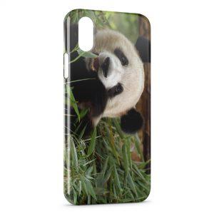 Coque iPhone XS Max Panda 3