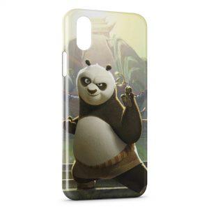 Coque iPhone XS Max Panda Cartoon