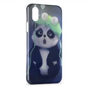 Coque iPhone XS Max Panda Kawaii Cute 2