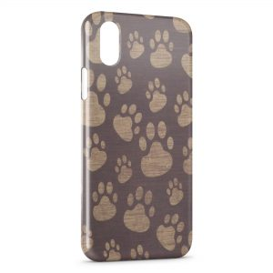 Coque iPhone XS Max Pattes d'Ours