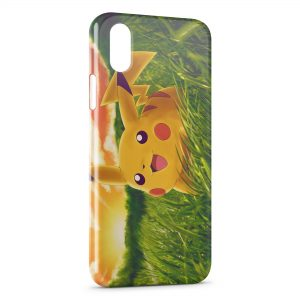 Coque iPhone XS Max Pikachu