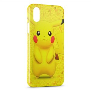 Coque iPhone XS Max Pikachu Pokemon