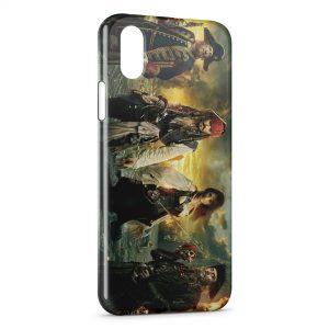 Coque iPhone XS Max Pirates des Caraibes 2