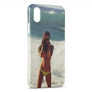Coque iPhone XS Max Plage & Bikini 2