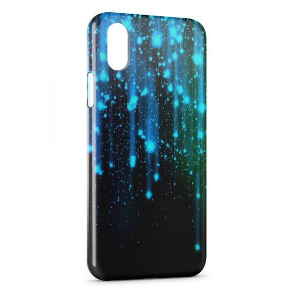 Coque iPhone XS Max Pluie & Galaxy