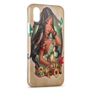 Coque iPhone XS Max Pocahontas Punk