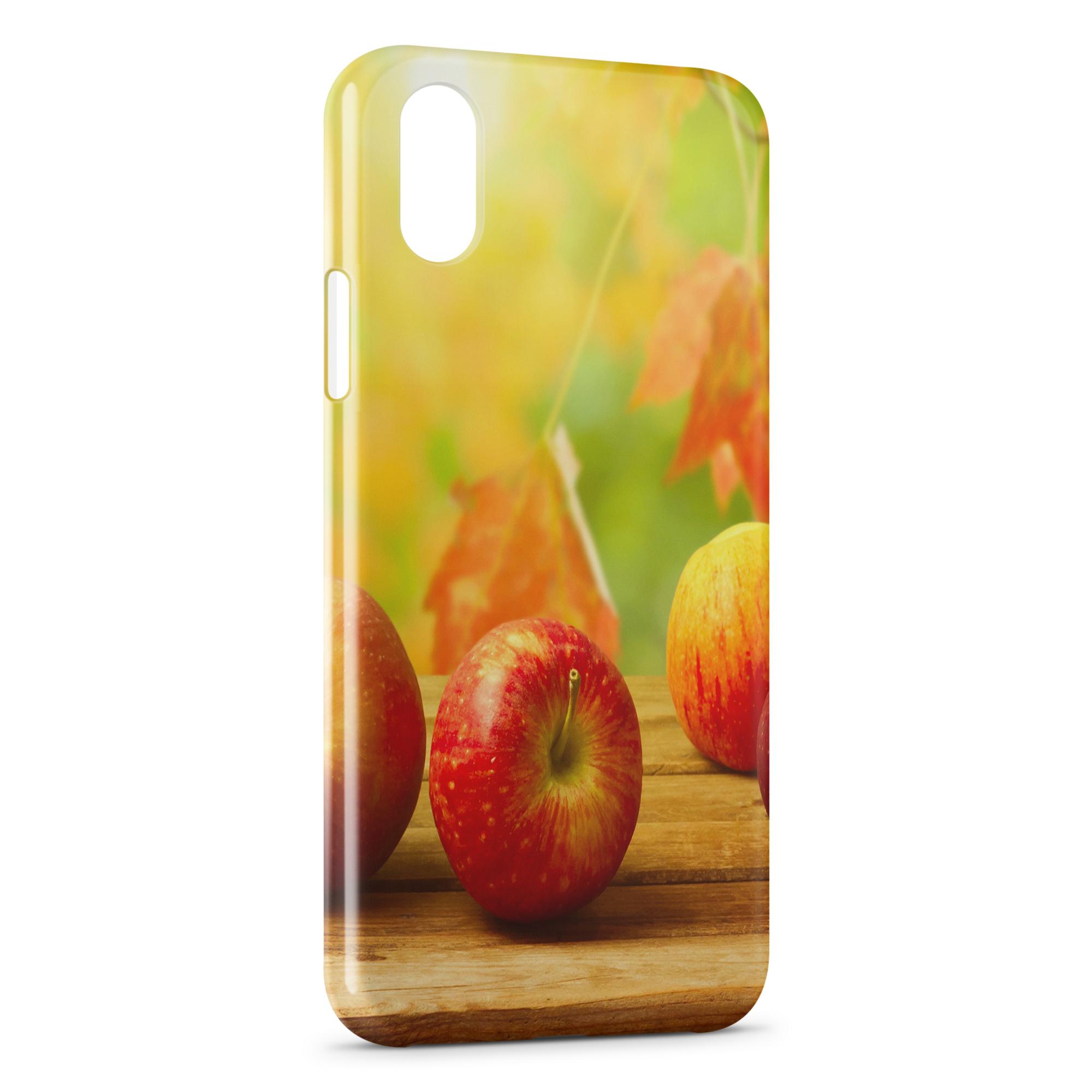 coque iphone xs max automne