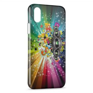 Coque iPhone XS Max Pop Music