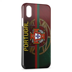 Coque iPhone XS Max Portugal FPF Drapeau