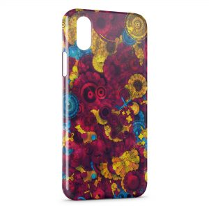 Coque iPhone XS Max Psychedelic Style 2