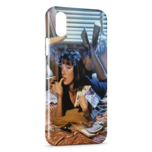 Coque iPhone XS Max Pulp Fiction