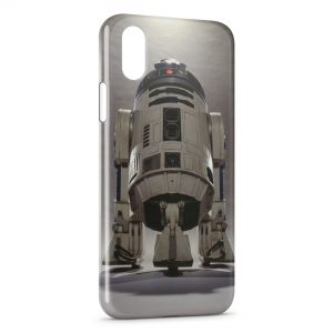 Coque iPhone XS Max R2D2 Star Wars Robot 3