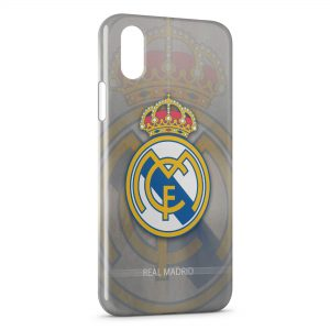 Coque iPhone XS Max Real Madrid Football 10