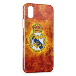 Coque iPhone XS Max Real Madrid Football 12