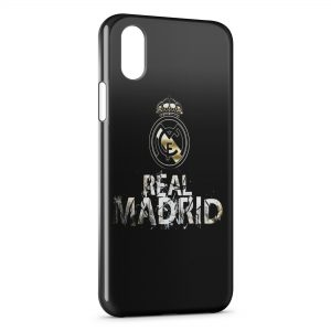 Coque iPhone XS Max Real Madrid Football 3