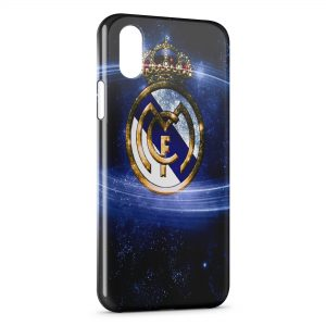 Coque iPhone XS Max Real Madrid Football 4
