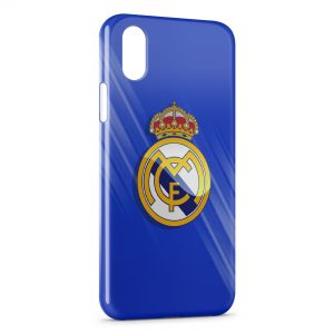 Coque iPhone XS Max Real Madrid Football 5