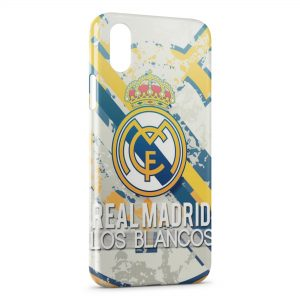 Coque iPhone XS Max Real Madrid Football 6
