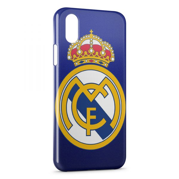 Coque iPhone XS Max Real Madrid Football 6b