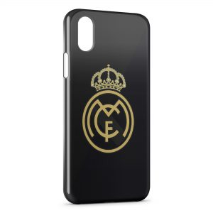 Coque iPhone XS Max Real Madrid Football 9