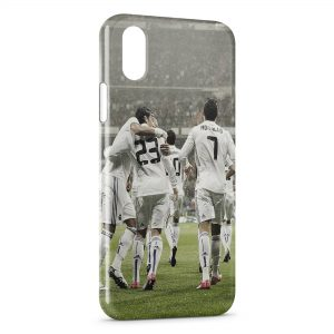 Coque iPhone XS Max Real Madrid Ronaldo Cristiano Football