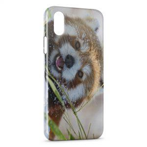 Coque iPhone XS Max Red panda