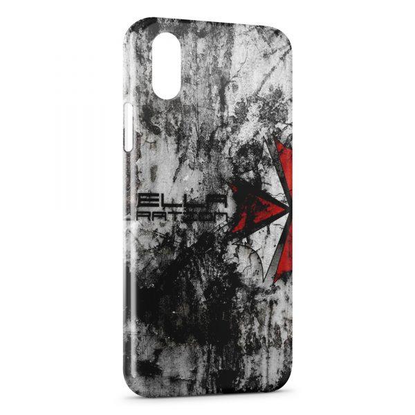 Coque iPhone XS Max Resident Evil Jeu 4