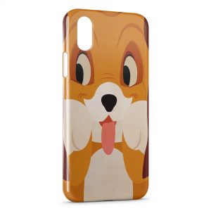 Coque iPhone XS Max Rox et Rouky Chien