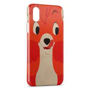 Coque iPhone XS Max Rox et Rouky Renard Fox
