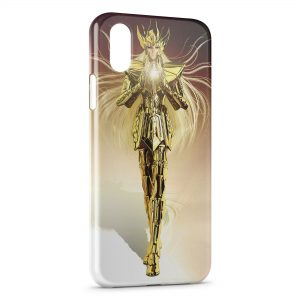 Coque iPhone XS Max Saint Seiya Manga