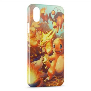 Coque iPhone XS Max Salameche Pokemon 22