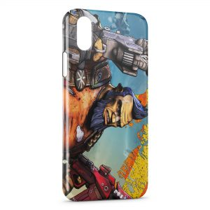 Coque iPhone XS Max Salvador Borderlands