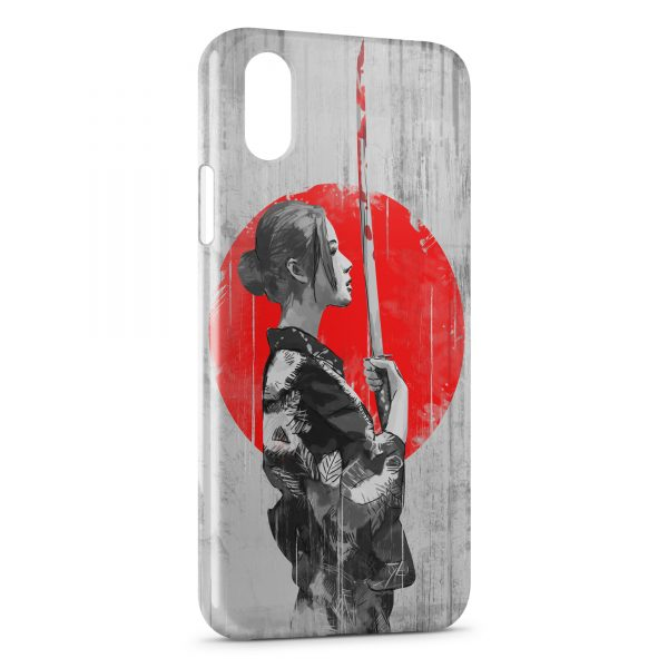 Coque iPhone XS Max Samurai