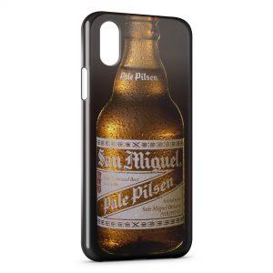 Coque iPhone XS Max San Miguel Bière Cerveza Espagnole