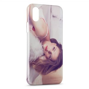 Coque iPhone XS Max Scarlett Johansson 3
