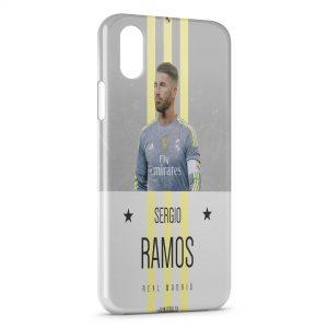 Coque iPhone XS Max Sergio Ramos Real Madrid 3