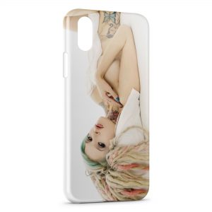 Coque iPhone XS Max Sexy Dread Girl 2