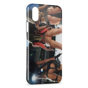 Coque iPhone XS Max Sexy Girl Guns 6