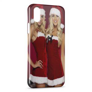 Coque iPhone XS Max Sexy Noel Girl