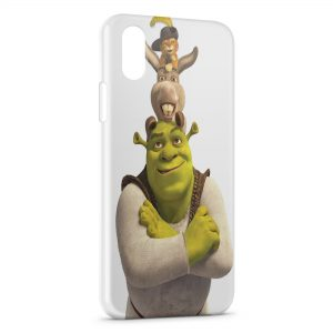 Coque iPhone XS Max Shrek