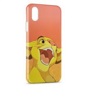 Coque iPhone XS Max Simba Le Roi Lion
