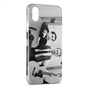 Coque iPhone XS Max Simon & Garfunkel