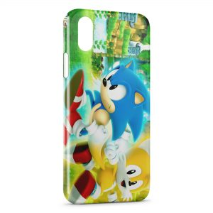 Coque iPhone XS Max Sonic 3
