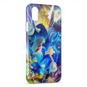 Coque iPhone XS Max Sonic Power