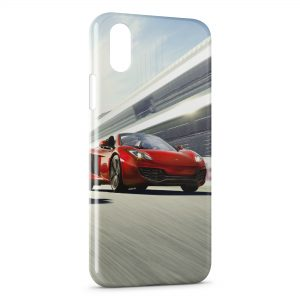 Coque iPhone XS Max Speed Car Voiture